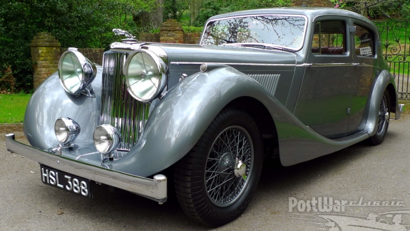 1947 Jaguar Mark IV 3 1-2 Litre Saloon