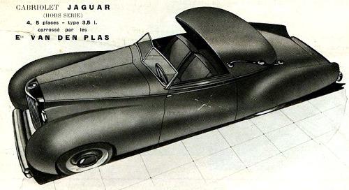 1947 jaguar vanden plas