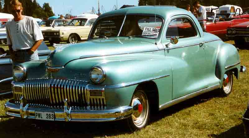 1948 De Soto De Luxe Business Coupé