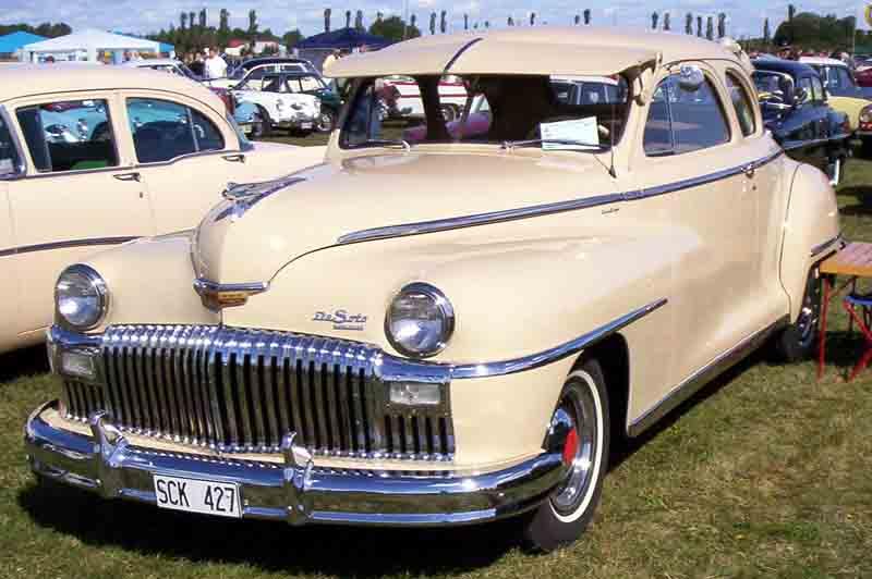 1948 De Soto De Luxe Coupé 5W