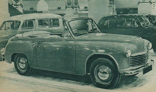 1948 hillman minx conv london