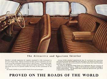 1948 Humber Super Snipe Touring Limousine a