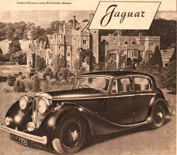 1948 jaguar 2,5ltr saloon