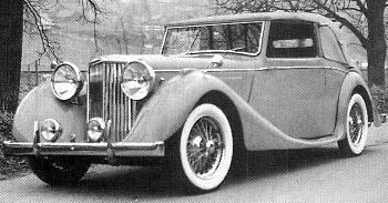 1948 jaguar 3,5 litre dhc