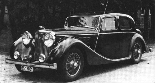 1948 jaguar 3,5 litre saloon