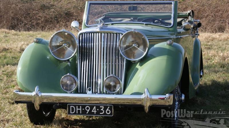 1948 Jaguar MK4 3.5 ltr. Drop Head Coupe LHD