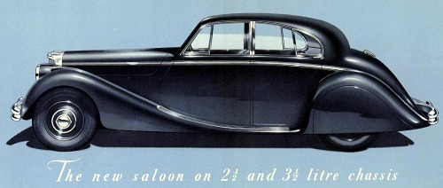 1948 jaguar mk5 autocar 3 l