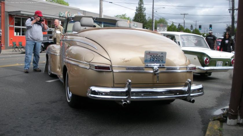 1948 Mercury Eight convertible rear