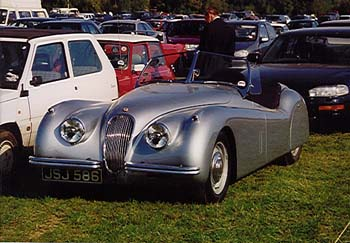 1949-54 Jaguar XK 120