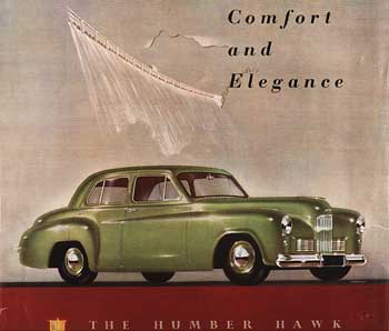 1949-57 Humber Hawk Mark III-VI