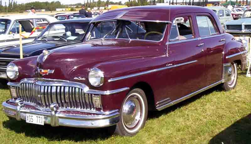 1949 De Soto Custom 4Door Sedan