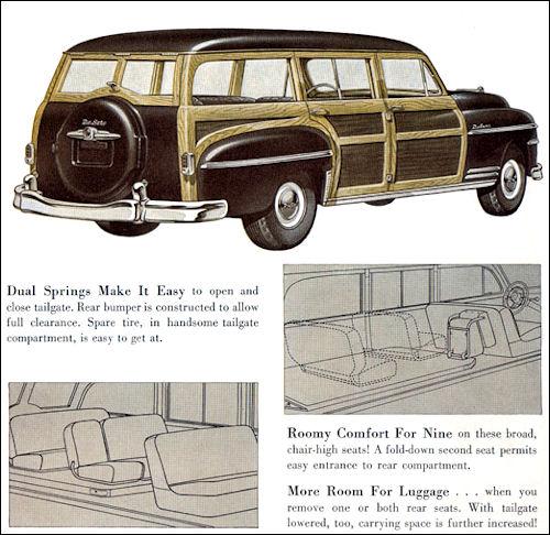1949 de soto de luxe s13 station wagon
