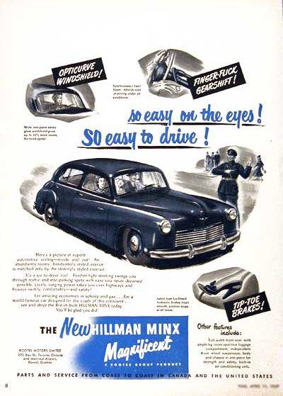 1949 hillman minx ad 3