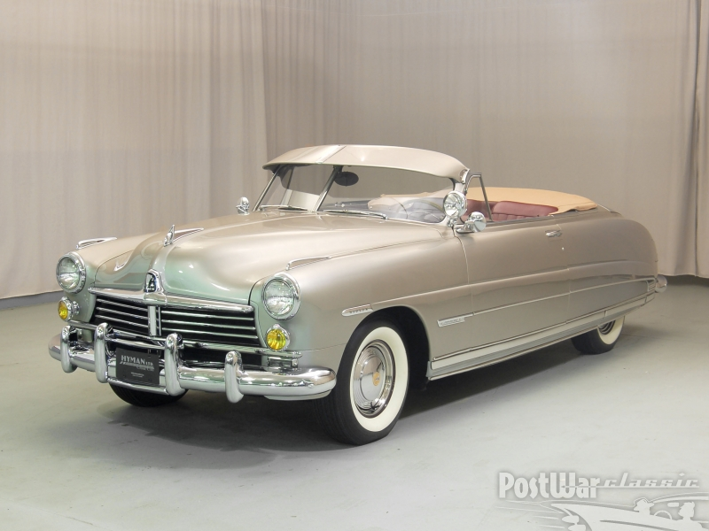 1949 Hudson Commodore 6 Convertible