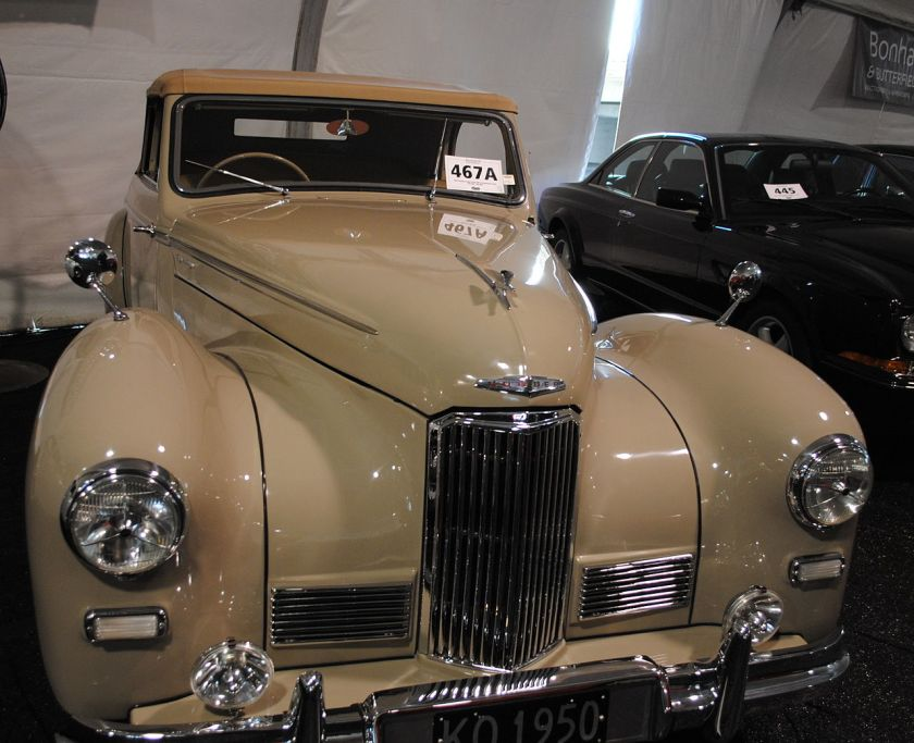 1949 Humber Super Snipe Tickford drophead coupé
