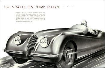 1949 jaguar x120 5 l52
