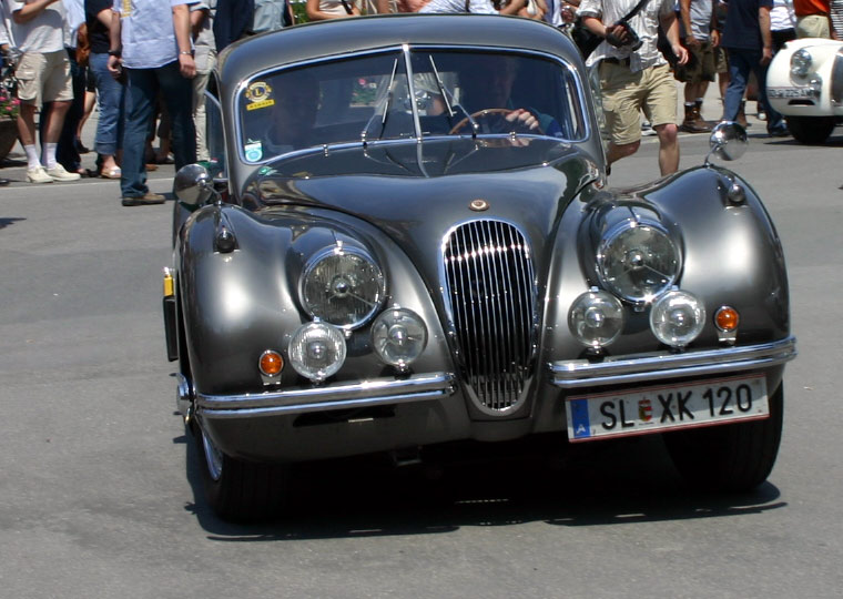 1949 Jaguar XK120 fastest production car in the world in 1949