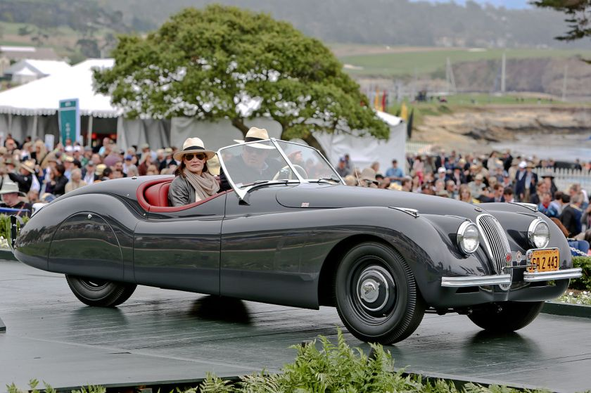 1949 Jaguar XK120 Roadster Clark Gable