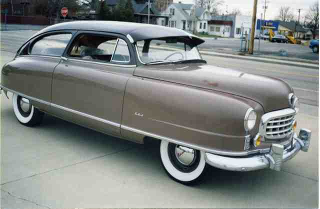 1949 Nash, 600 Super, 2 Dr., 6cyl Brougham
