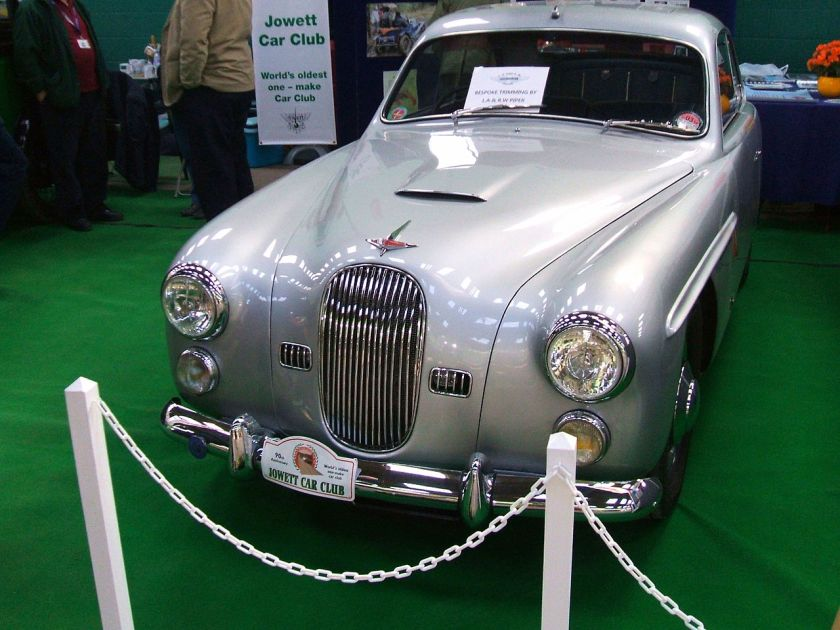 1950-51 Jowett Jupiter by Farina Coupe