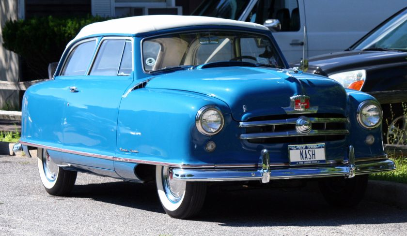 1950-52 Nash Rambler Custom convertible