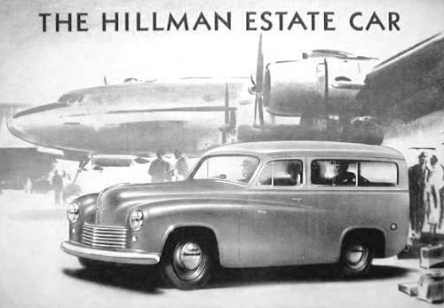 1950 hillman estate