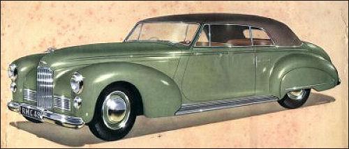 1950 humber super snipe mk II tickford conv