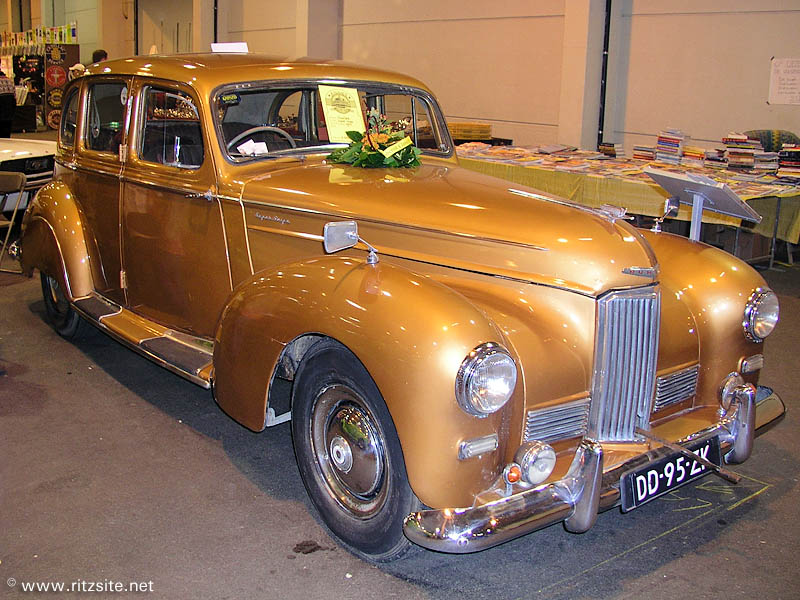 1950 Humber Super Snipe Mk III - saloon body