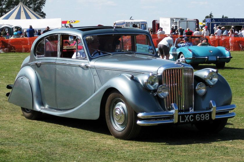 1950 Jaguar Mark V 3485cc