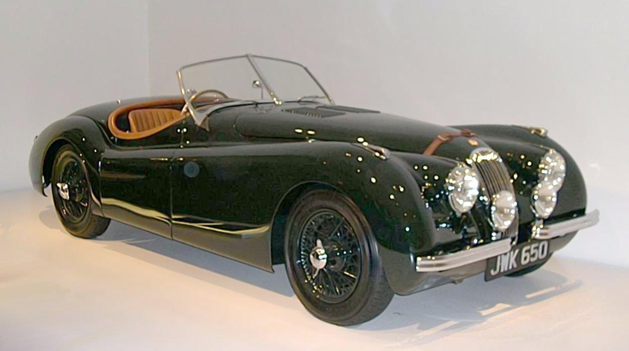 Elegant 1950 Jaguar XK120 From The Ralph Lauren Collection