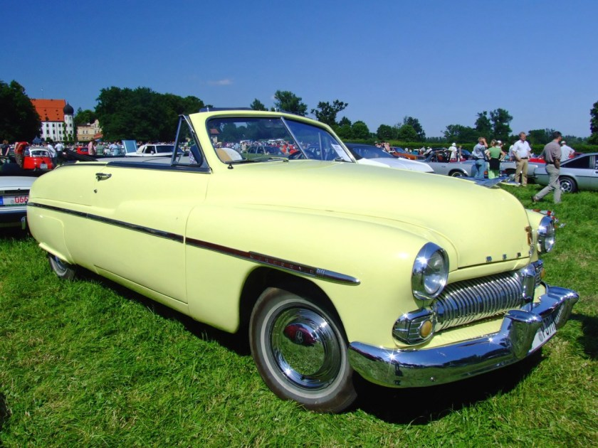 1950 Mercury 8 Convertible 130PS