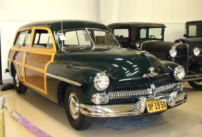 1950 Mercury Eight station wagon