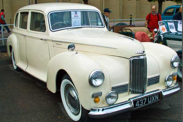 1950 Mk2 Humber Pullman limousine