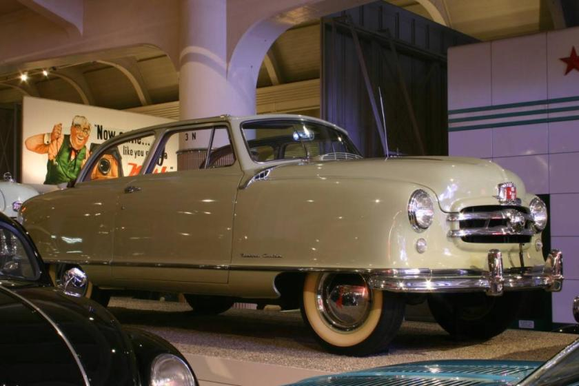 1950 Nash Rambler Custom Landau Convertible Coupe