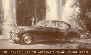 1951-56 Jaguar Mk VII