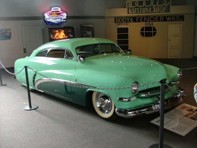 1951 Bob Hirohata's '51 Merc on display at the NHRA Museum in 2007