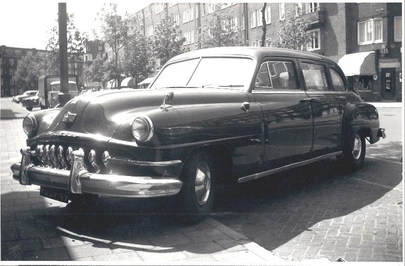 1951 De Soto 9-persoons taxi
