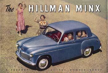 1951 Hillman Minx phase 5