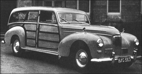 1951 humber pullman MkIII estate