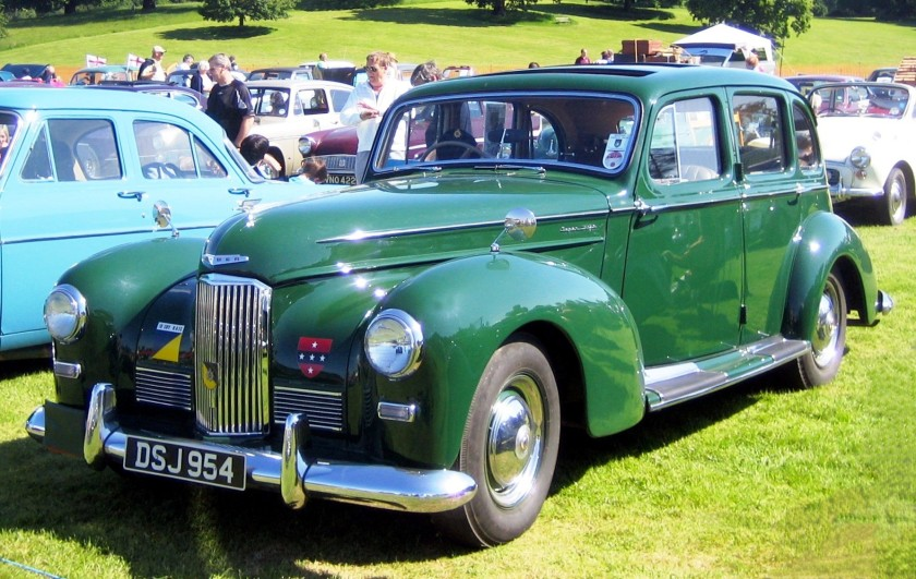 1951 Humber Super Snipe ex military