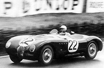 1951 jaguar type c lemans