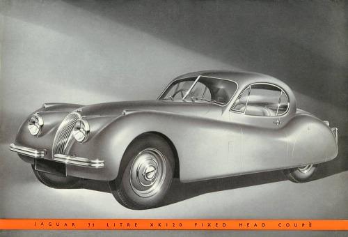 1951 jaguar xk 120 coupe