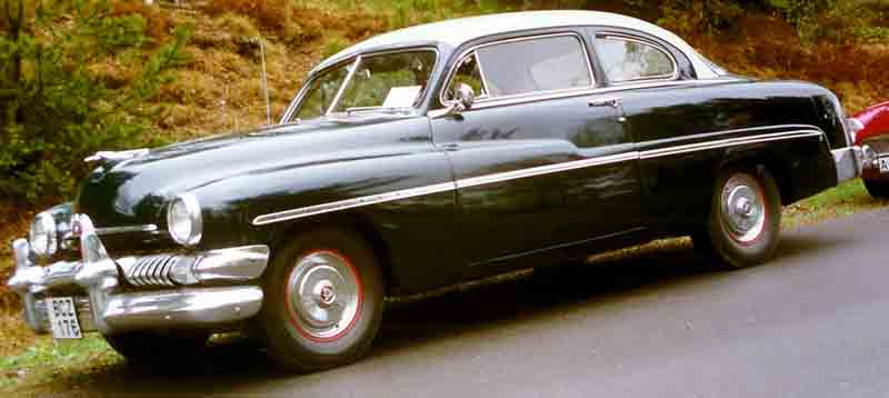 1951 Mercury Eight coupe