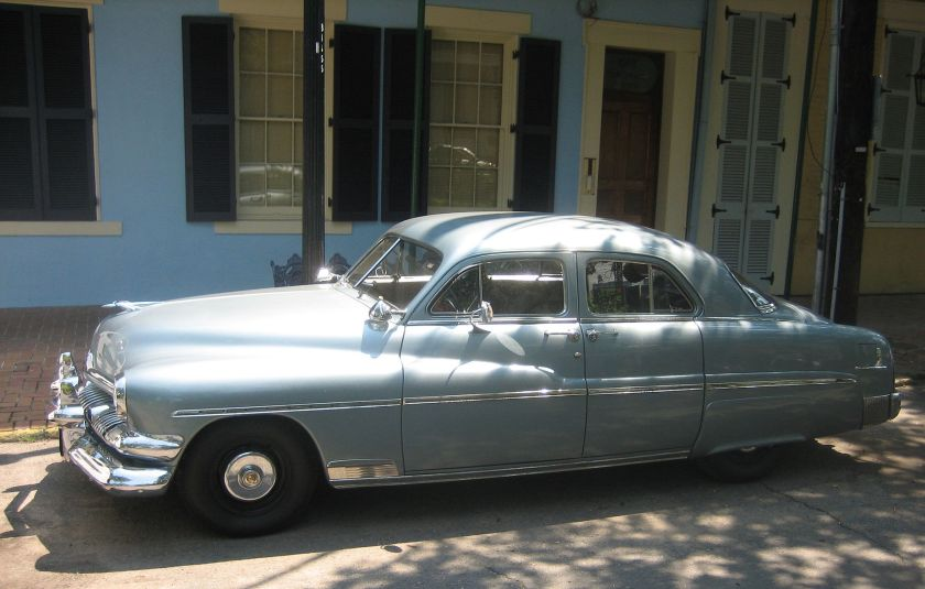 1951 Mercury Eight with suicide doors