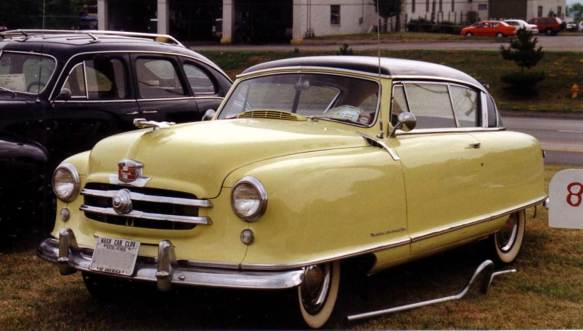 1951 Nash Country Club 2-door hardtop