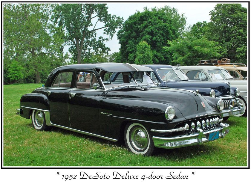 1952 DeSoto Deluxe at The 2009 Orphan Car Show at Riverside Park in Ypsilanti, Michigan.