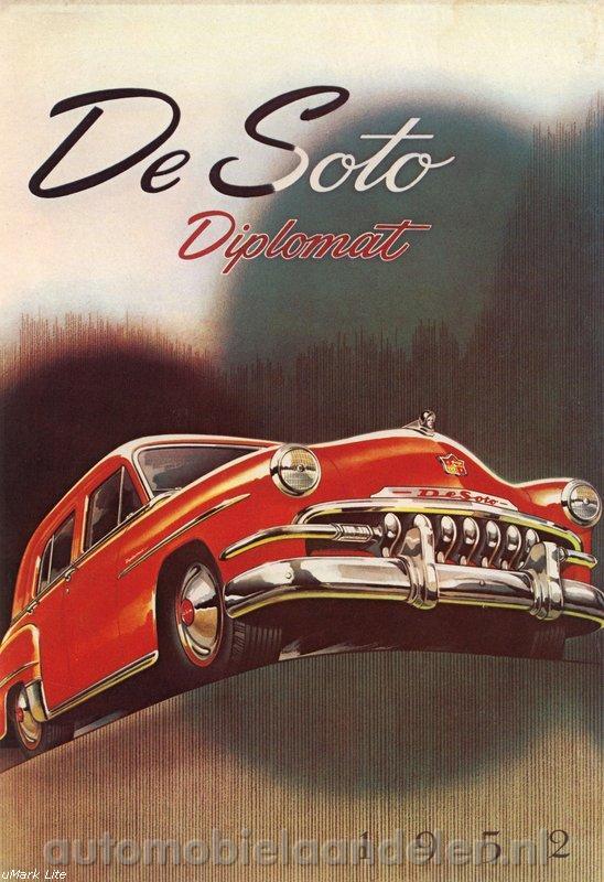 1952 Desoto Diplomat Reklame