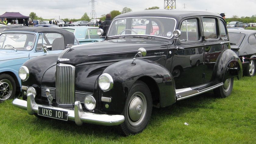 1952 Humber Super Snipe Mark III 4086cc