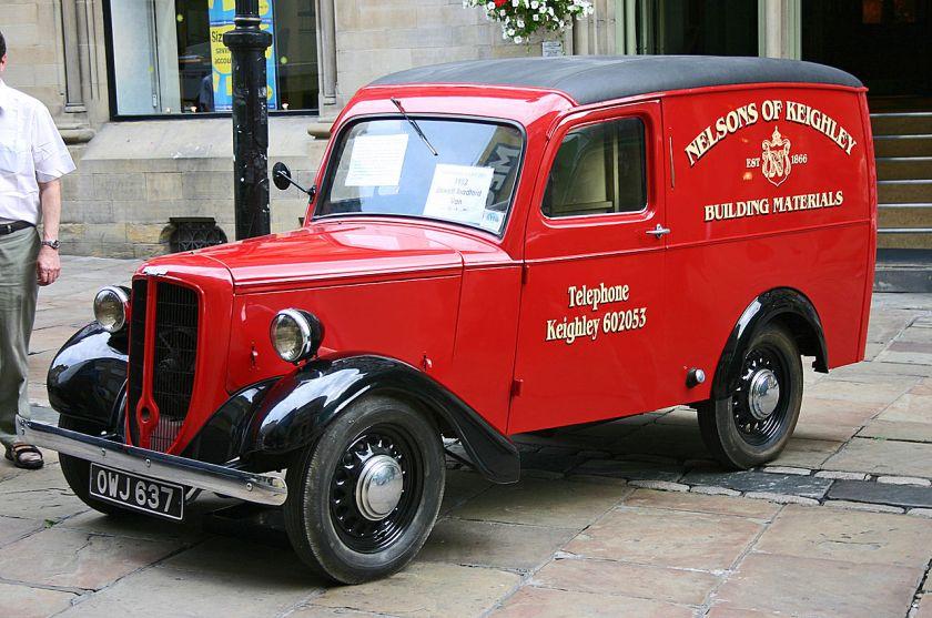 1952 Jowett Bradford Van