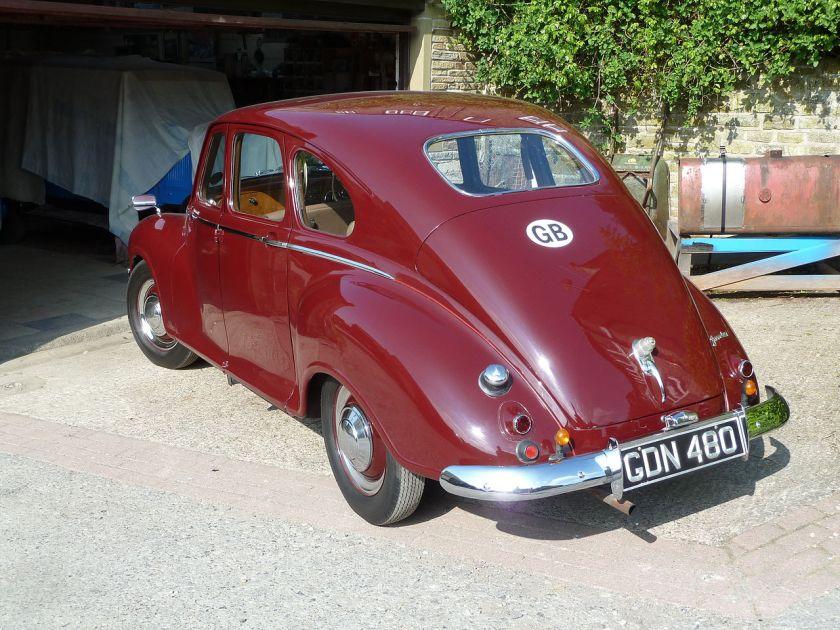 1952 Jowett Javelin Fastback Saloon